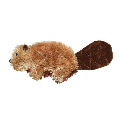 KONG Plush Dog Toy Beaver Small available at Ryan's Pet Supplies