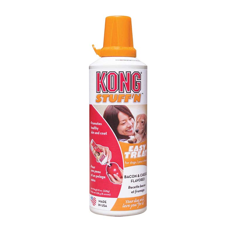 KONG Stuff'n Paste Easy Treat Bacon & Cheese 8 oz