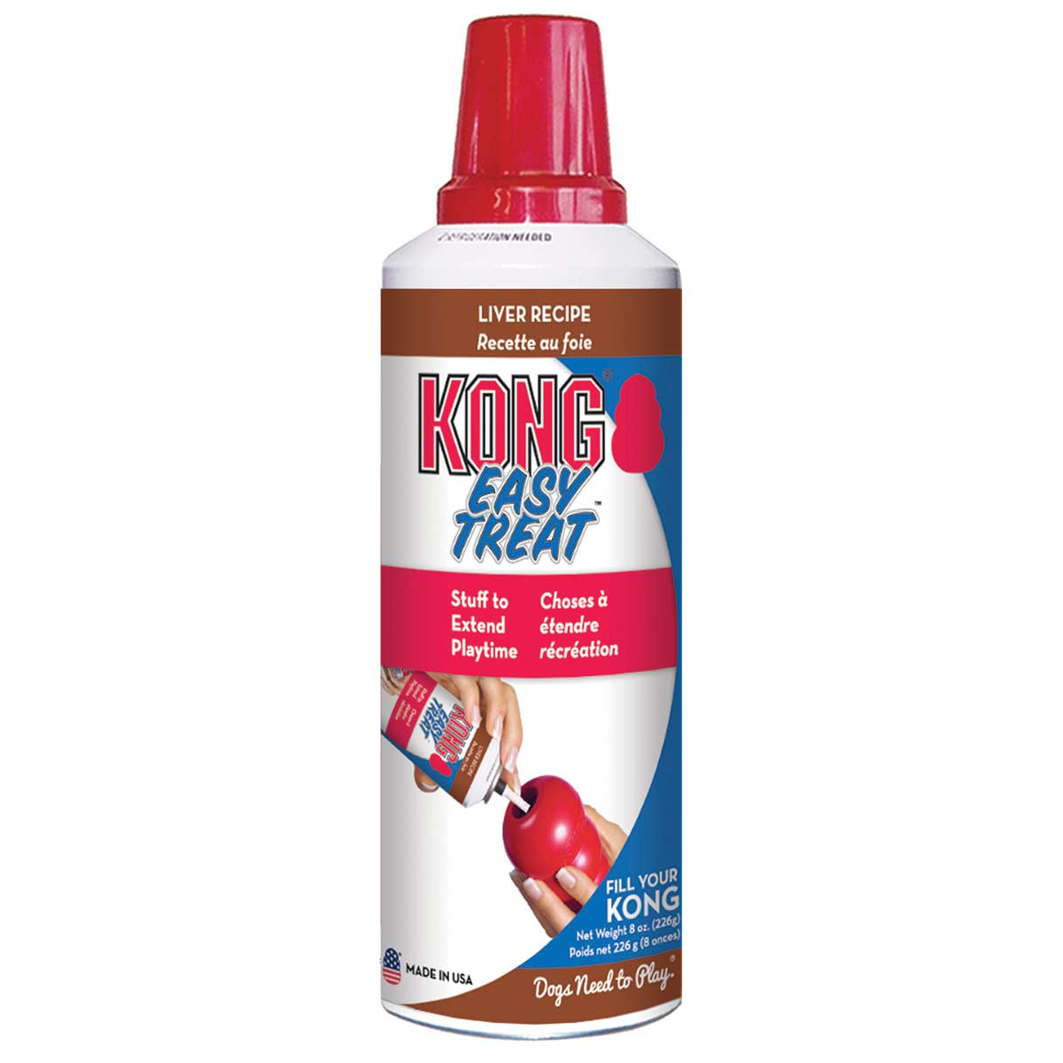 KONG Stuff'N Paste Easy Treat Liver 8 oz