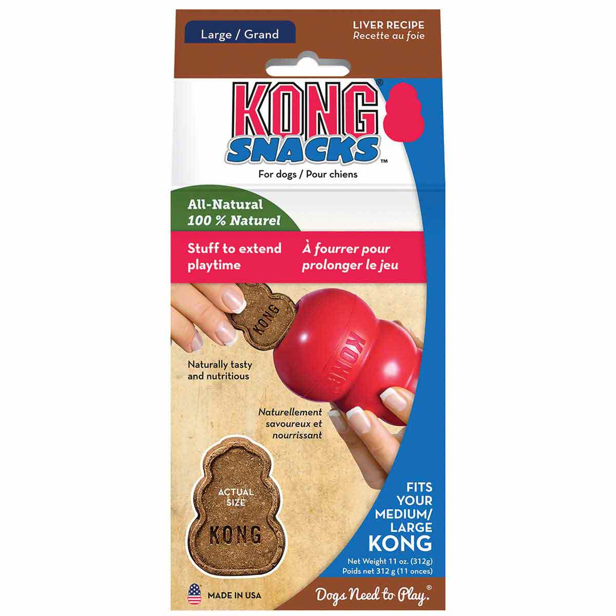 11 oz KONG Liver Snacks