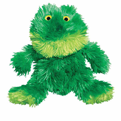 KONG Plush Frog Small available at Ryan's Pet Supplies