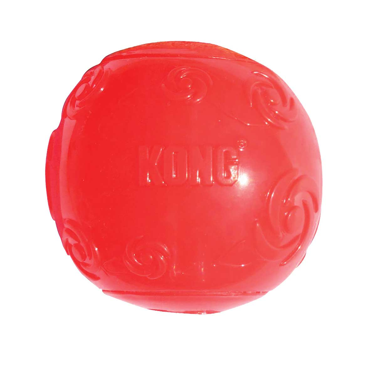 3.5 inch KONG Squeezz Ball XL