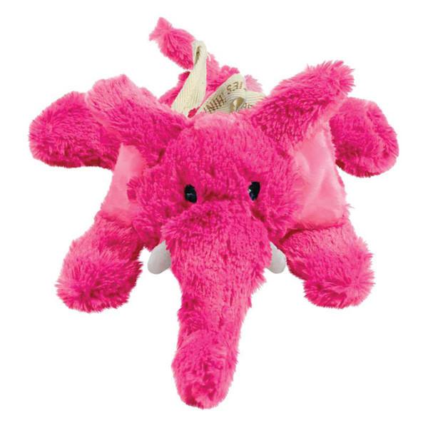 Stuffed KONG Cozie Elmer Elephant Dog Toy