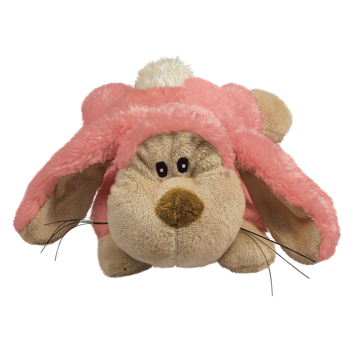 KONG Cozie Floppy Plush Bunny Dog Toy