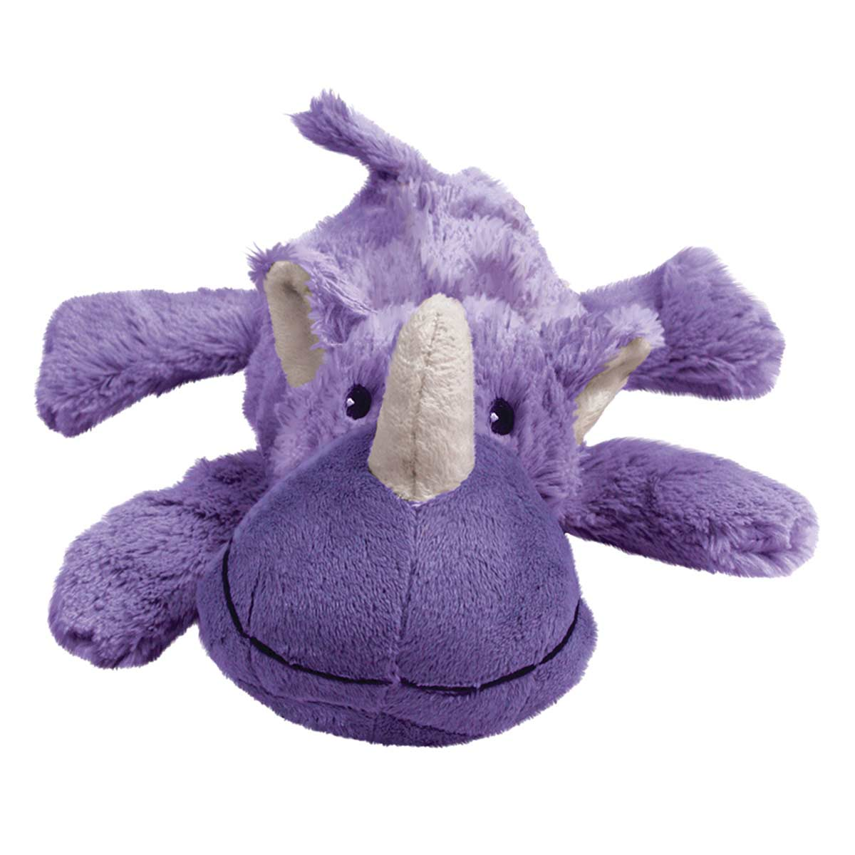 Purple KONG Cozie Rosie Plush Stuffed Toy for Dogs