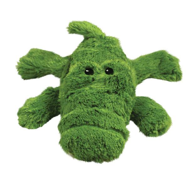 KONG Cozie Ali - Plush Alligator Dog Toy