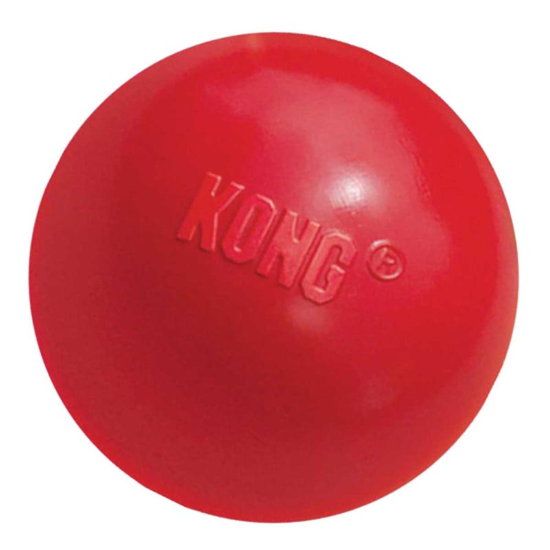 3 inch Red KONG Ball Size Med/Large