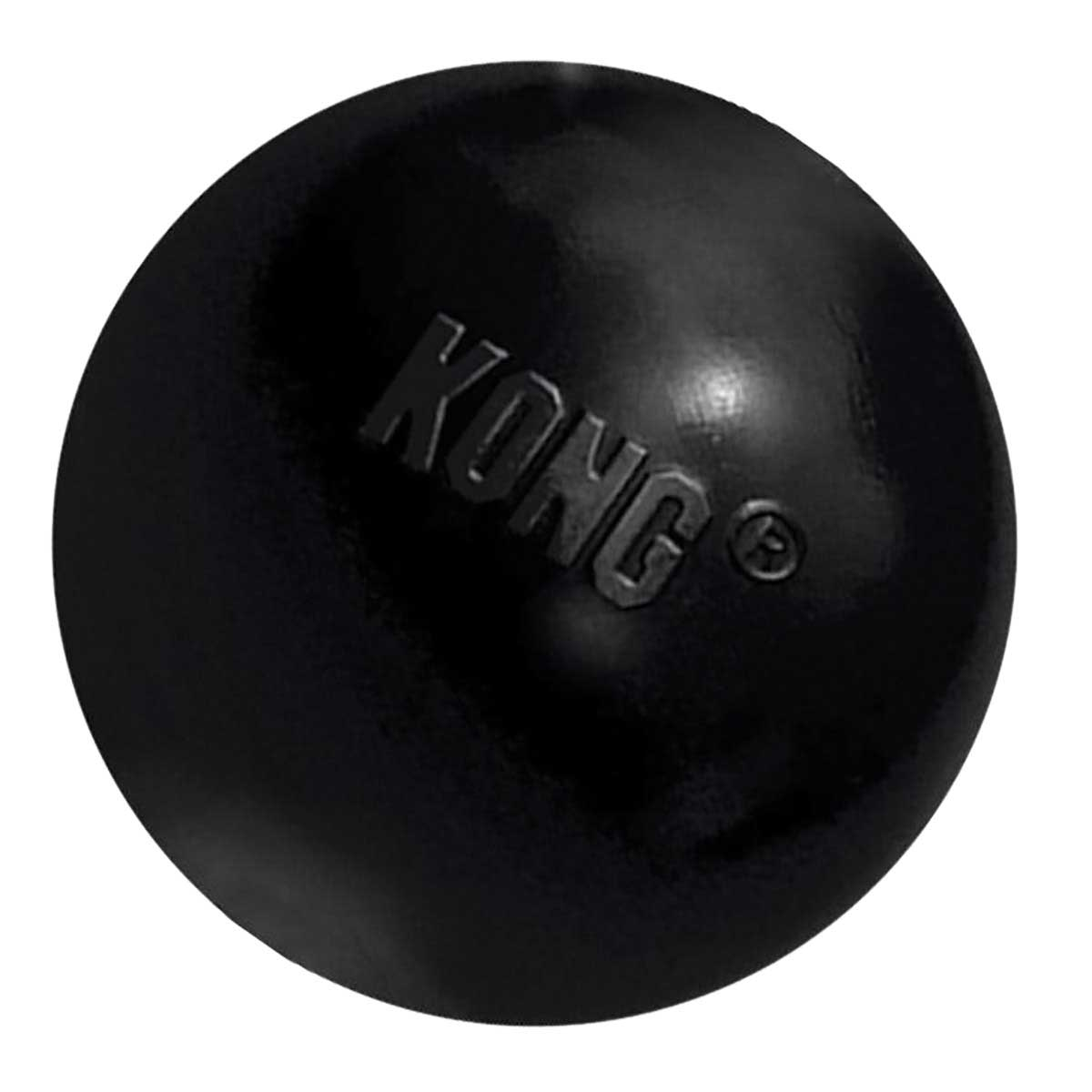 Small Black Extreme KONG Ball for Dogs