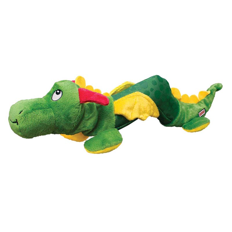 KONG Shaker Dragon Large/XL - Squeaks and Rattles