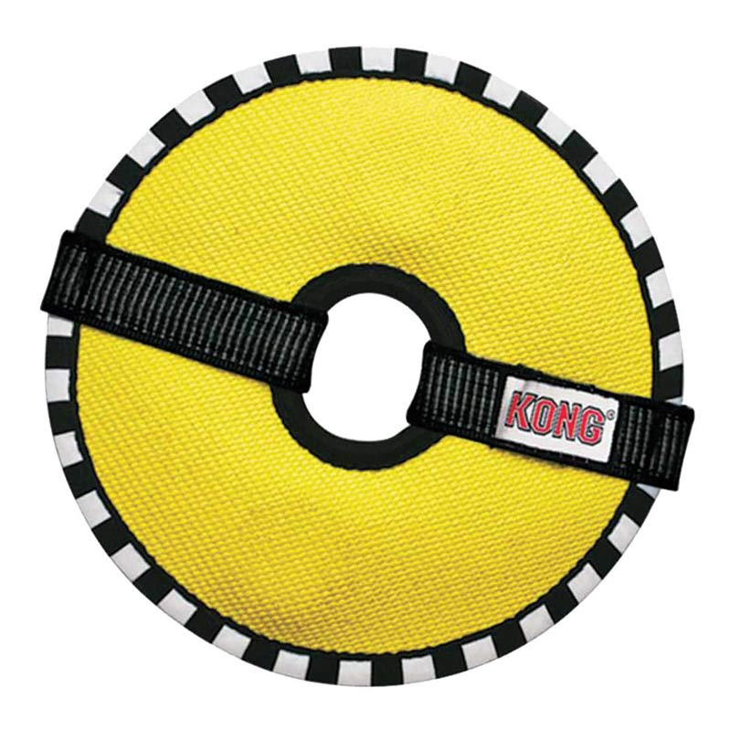 KONG Ballistic Fire Hose Medium Ring for Destructive Dogs