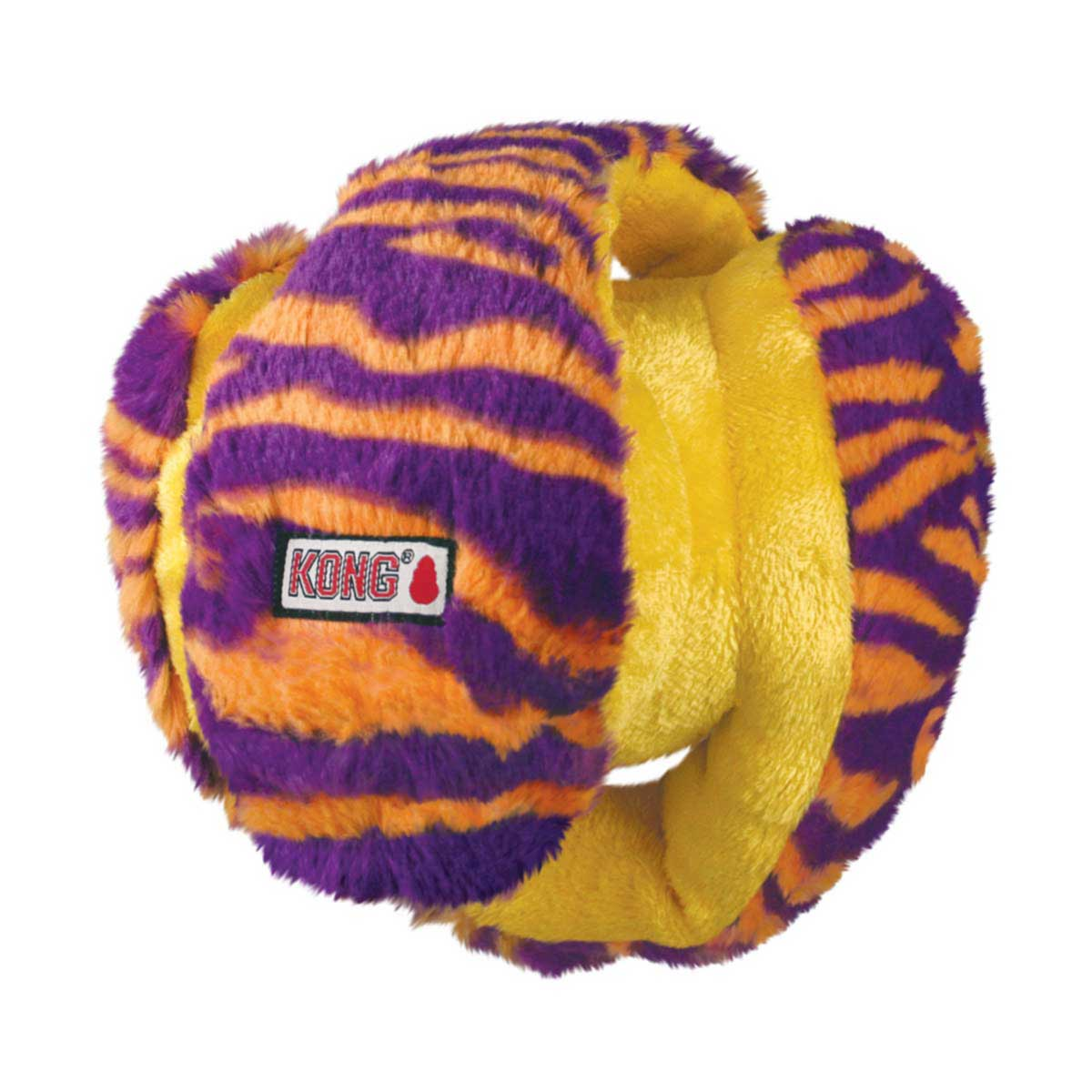 Purple and Orange KONG Funzler Medium Sized Dog Toy