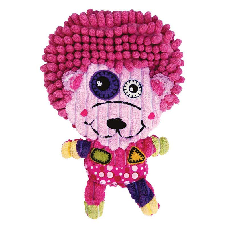 Pink KONG Romperz Hedgehog for Dogs - Large 11.75 inches