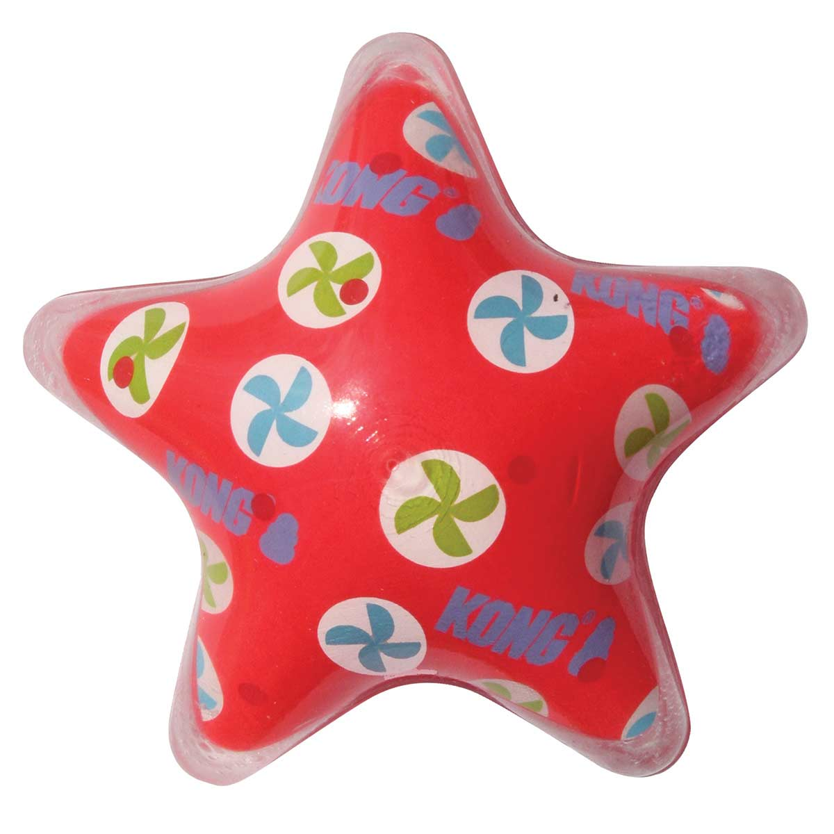 Large KONG Xpressions Star Bounce Toy for Dogs