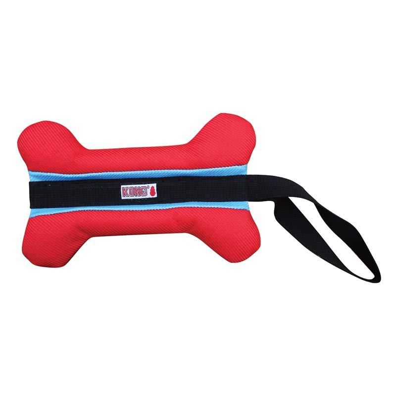 KONG Champz Bone Tug Dog Toy for Large Dogs