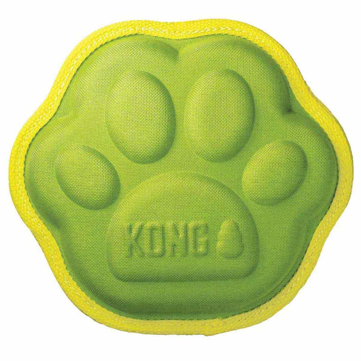 KONG Ballistic Imprints Paw Dog Toy