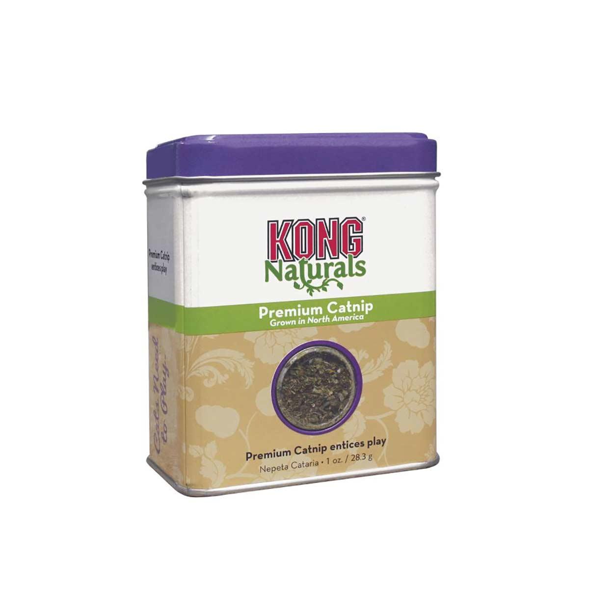 KONG Naturals Premium Catnip 1 oz
