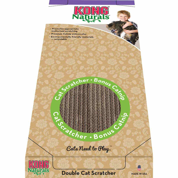 KONG Double Cat Scratcher With Catnip