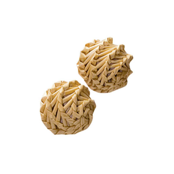 KONG Straw Ball 2 Pack Cat Toys