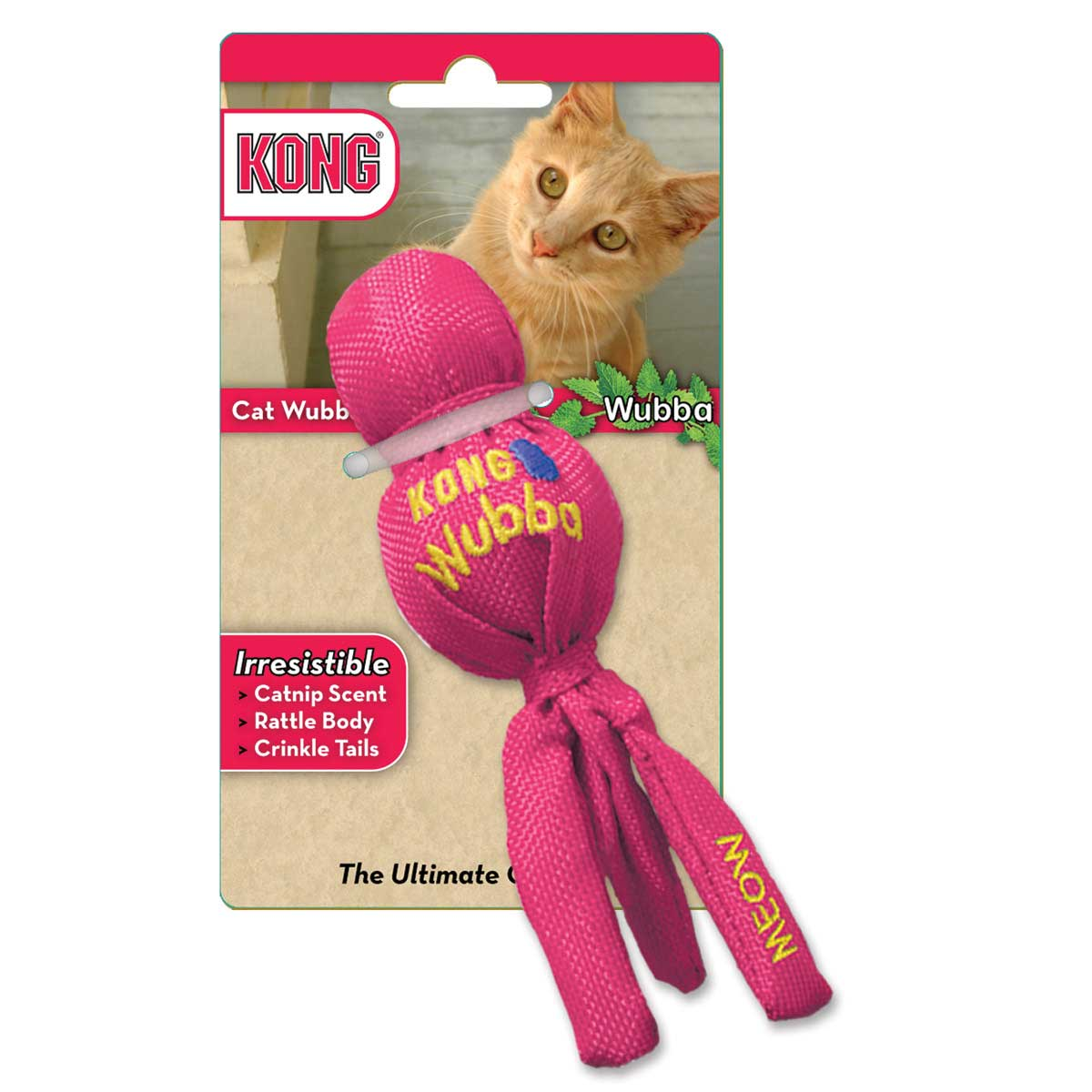 KONG Cat Wubba Toy for Cats