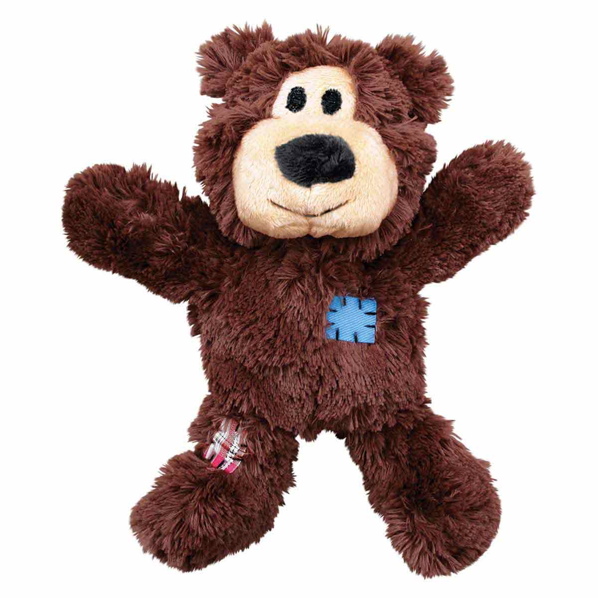 Medium/Large KONG Wild Knots Bear Stuffed Toy for Dogs