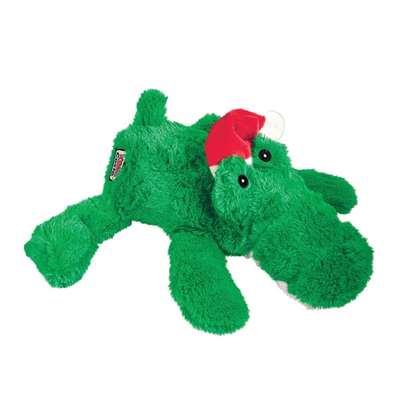 KONG Holiday Cozie Alligator X-Large Dog Toy