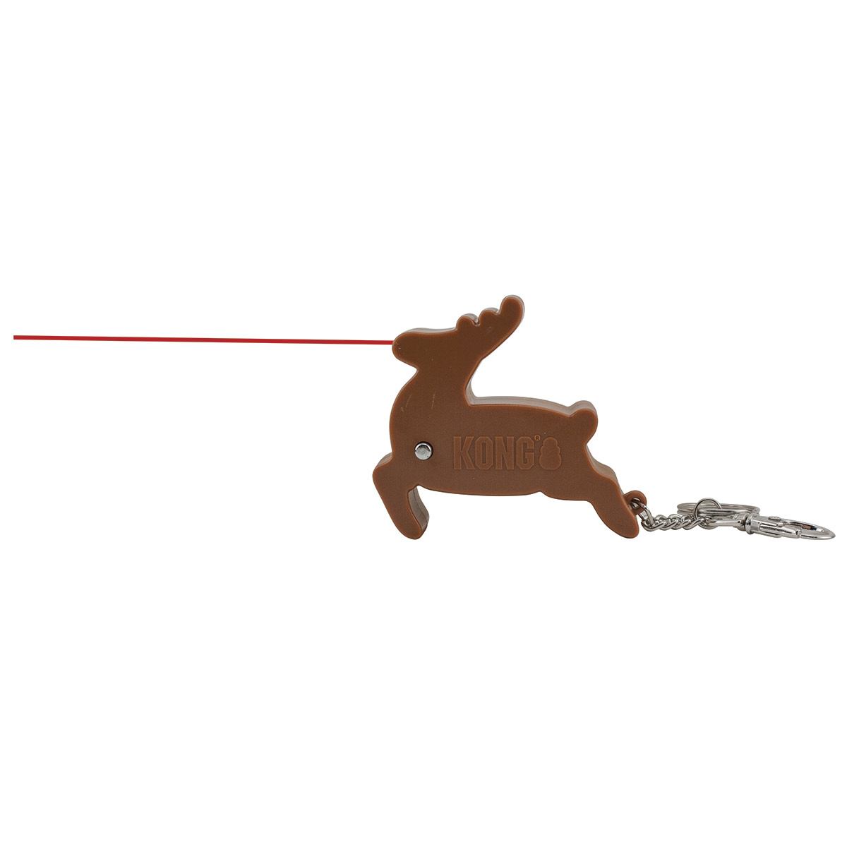 KONG Laser Reindeer Toy for Cats and Dogs