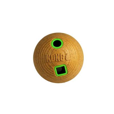 KONG Bamboo Feeder Ball Treat Dispensing Dog Toy