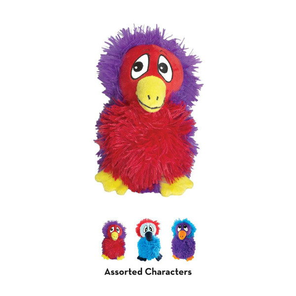 KONG DoDo Quirky Bird Medium Stuffed Dog Toy