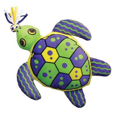 Medium KONG Aloha Turtle Dog Toy