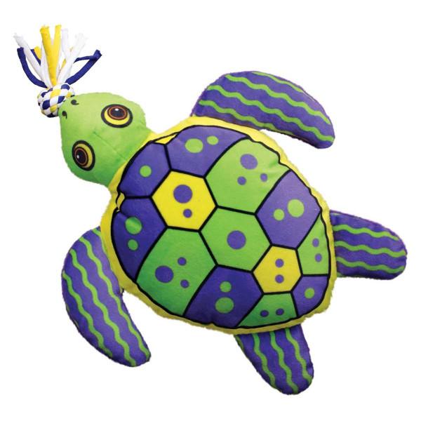 Medium KONG Aloha Turtle Dog Toy