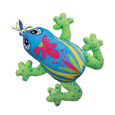 Medium KONG Aloha Frog Dog Toy