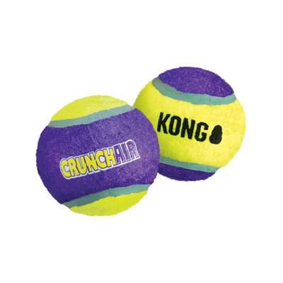 3 Pack Small 2 inch KONG CrunchAir Balls