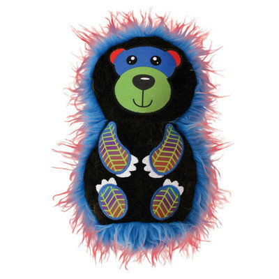 KONG RoughSkinz Suedez Bear Dog Toy