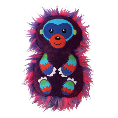 KONG RoughSkinz Suedez Monkey Dog Toy