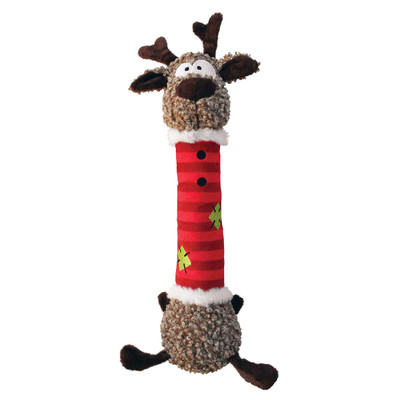 KONG Holiday Shakers Luvs Reindeer Dog Toy