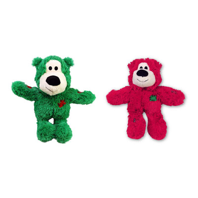 Small/Medium KONG Holiday Wild Knots Bear Dog Toy