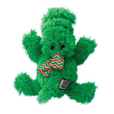 Holiday Cozie Ali Alligator Medium Seasonal Dog Toy