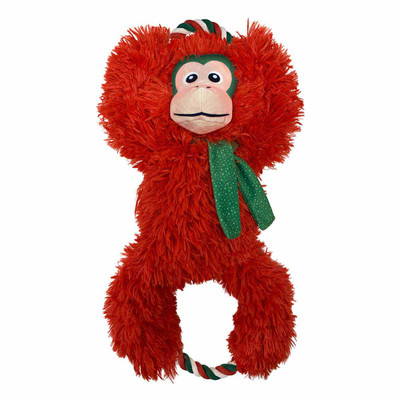 KONG Holiday Tuggz Monkey XL Seasonal Dog Toy