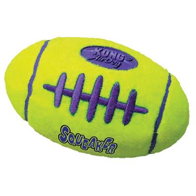 Medium KONG Air Kong Squeaker Football for Dogs - 5 inches
