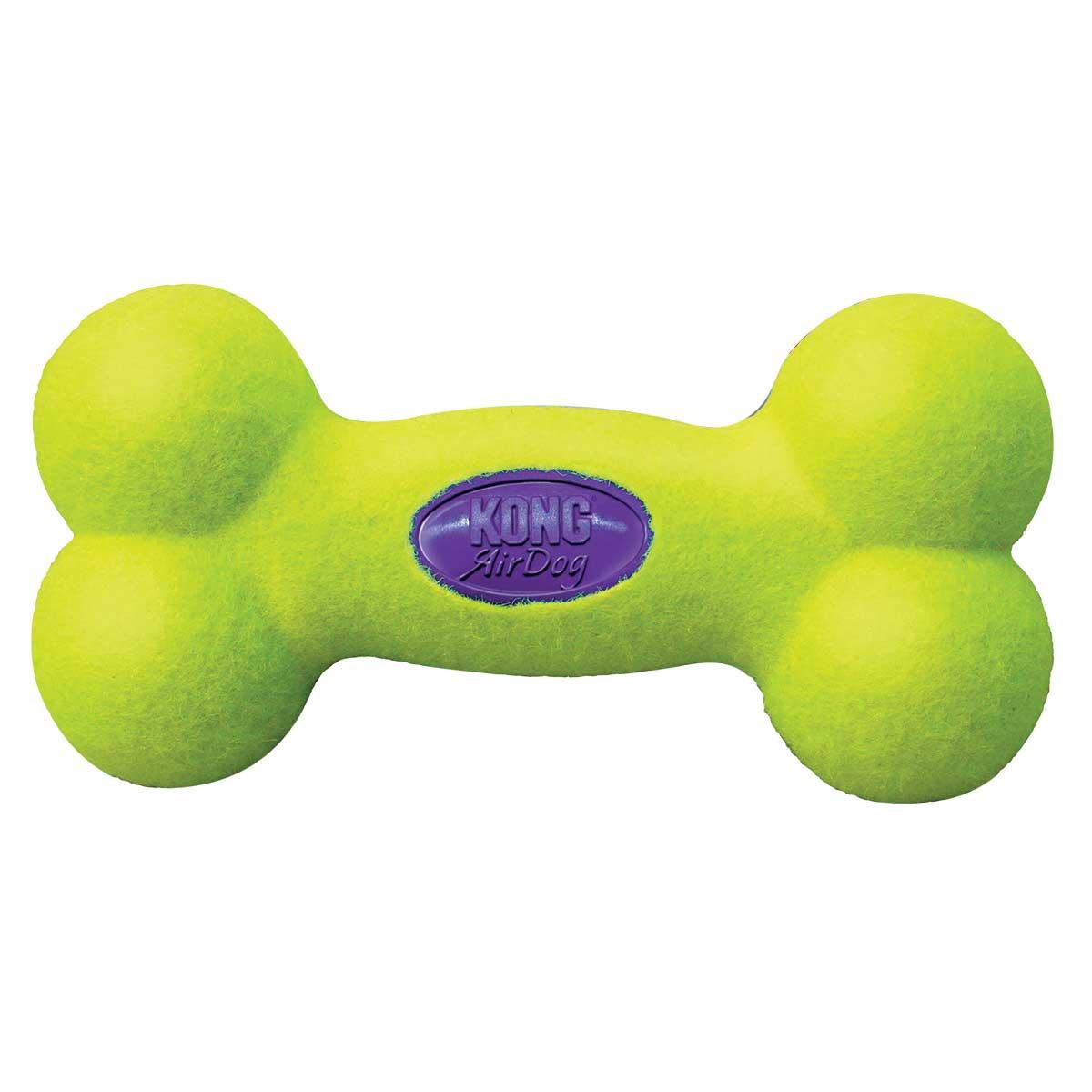 Large KONG Air Kong Squeaker Bone Toy