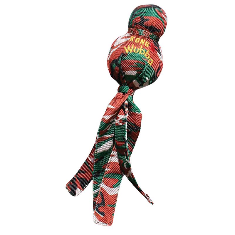 X-Large KONG Camo Wubba Toy for Dogs