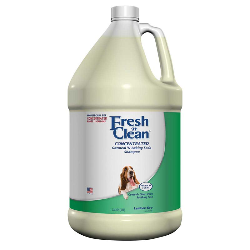 Concentrated Fresh 'n Clean Oatmeal 'n Baking Soda Dog Shampoo Gallon