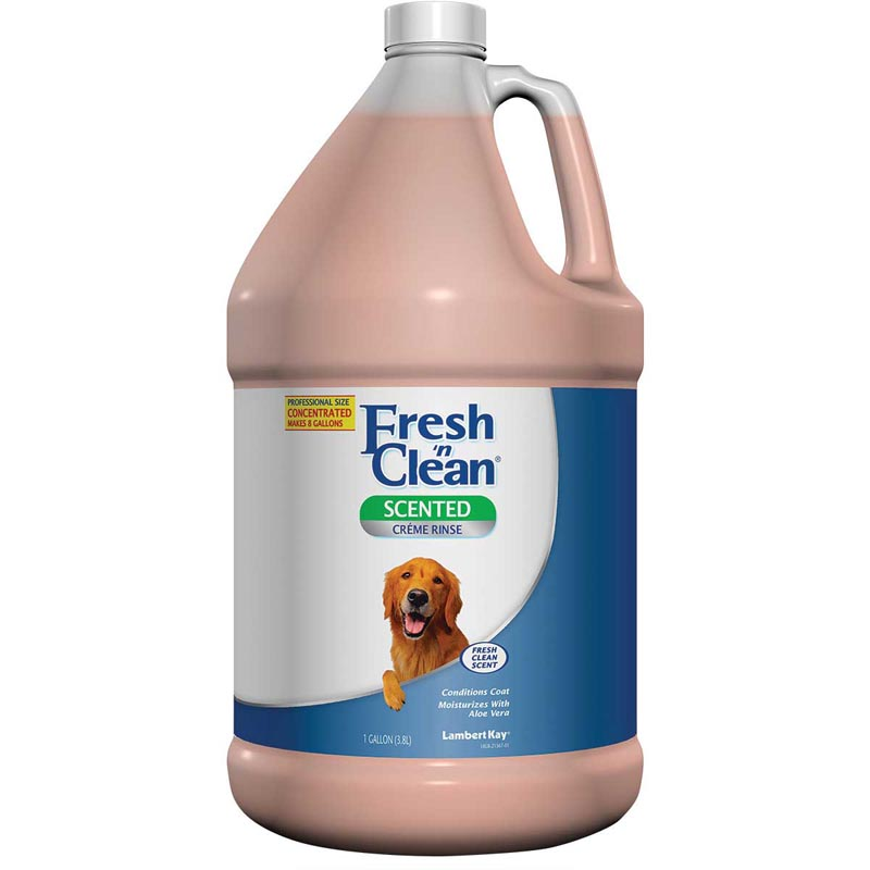 Fresh 'n Clean Pet Creme Rinse Concentrate 7:1 Gallon