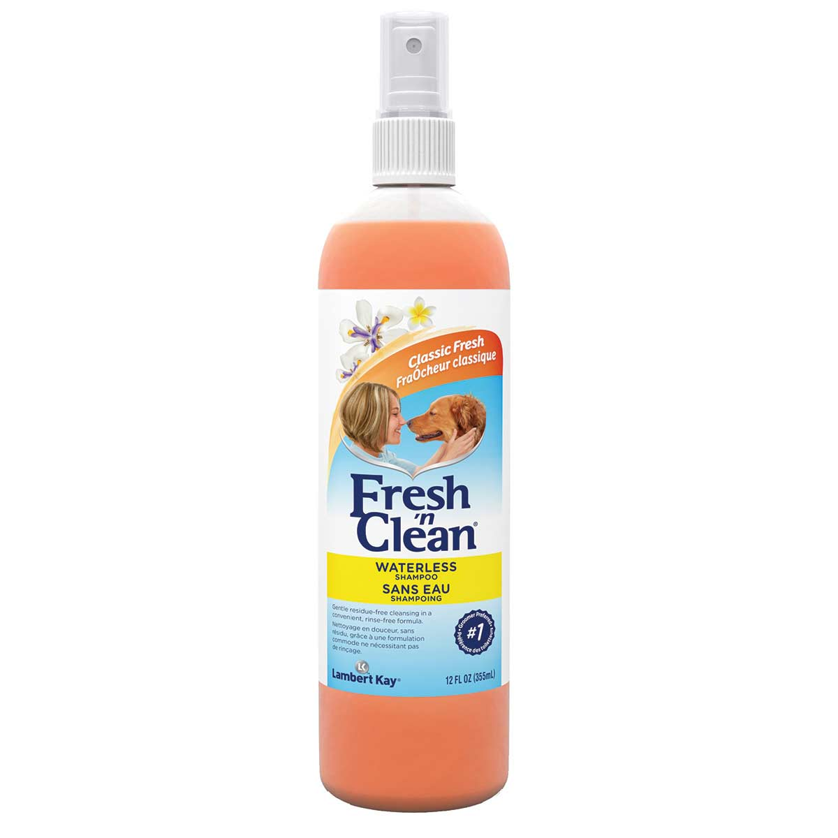 Fresh 'n Clean Waterless Shampoo for Pets available at Ryan's Pet Supplies
