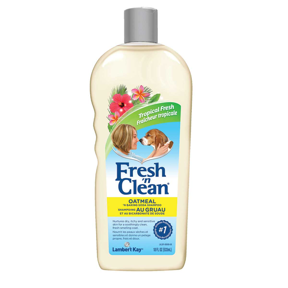 Fresh 'n Clean Oatmeal 'n Baking Soda Shampoo for Dogs Ready to Use18 oz