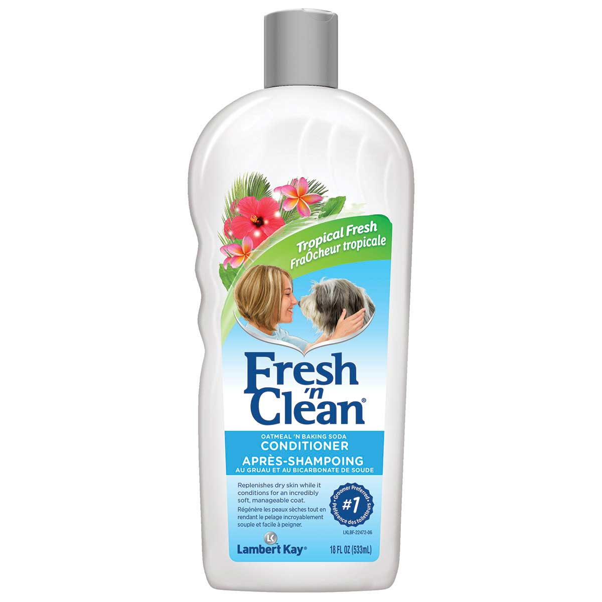Fresh 'n Clean Oatmeal 'n Baking Soda Conditioner - Tropcial Breeze Scent 18 oz