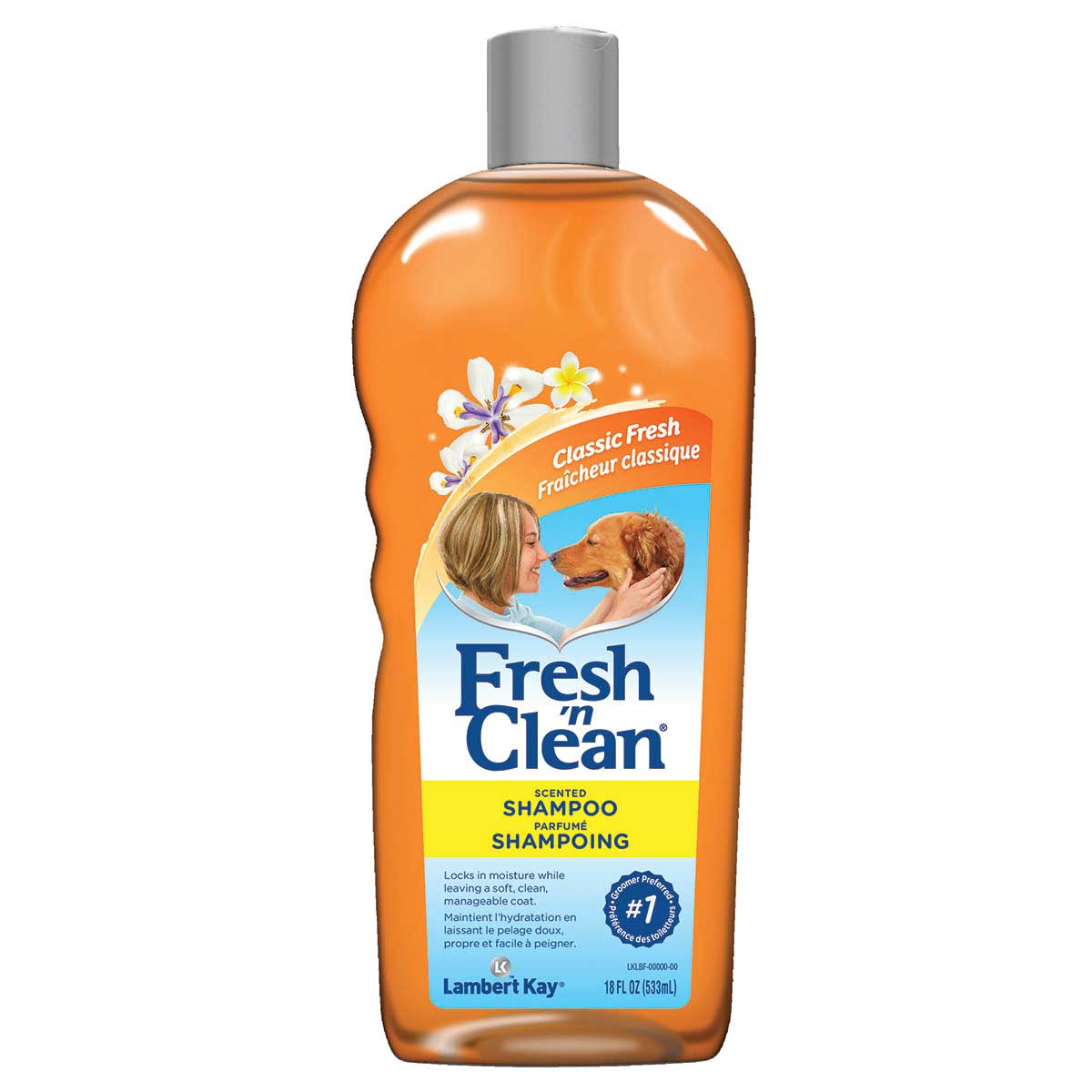 Fresh 'n Clean Scented Pet Shampoo Ready to Use 18 oz