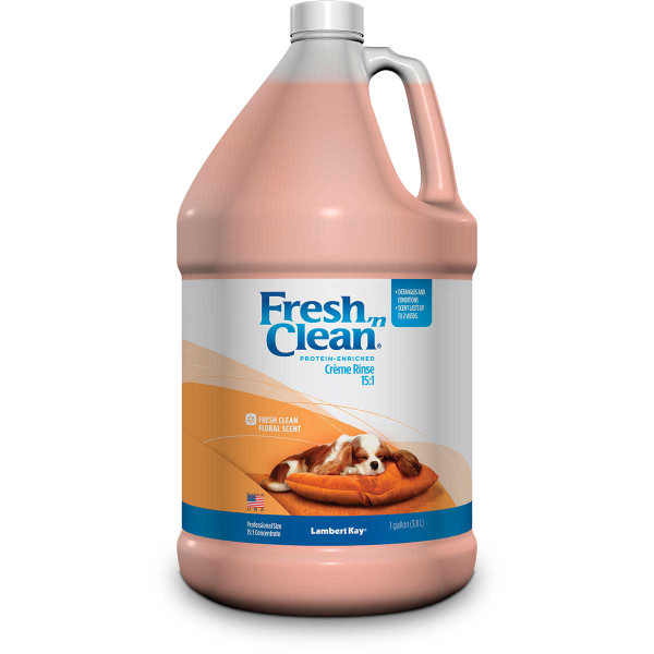 Fresh 'n Clean Creme Rinse for Dogs - Concentrated 15:1 Gallon