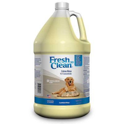 Concentrated Fresh 'n Clean Tropical Breeze Scent Creme Rinse Gallon 15:1