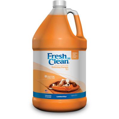 Fresh 'n Clean Protein Enriched Moisturizing Scented Pet Shampoo Concentrated 15:1 Gallon
